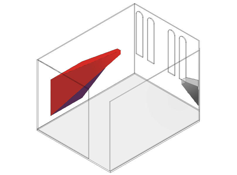 proposal drawing, isometric view
