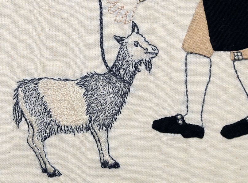 Detail: Trade Item – Goat, Kaka Beak.