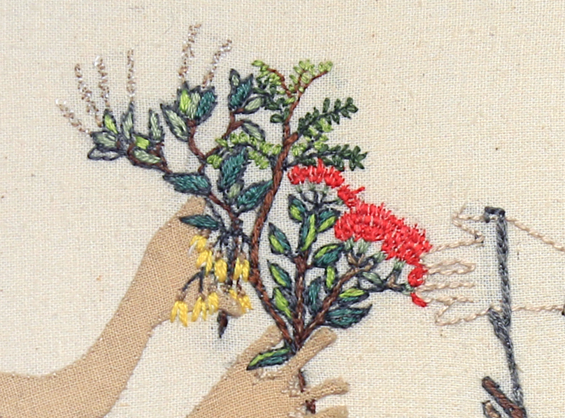 Detail: Trade Item – Rabbits, Regenerating Bush, Kowha