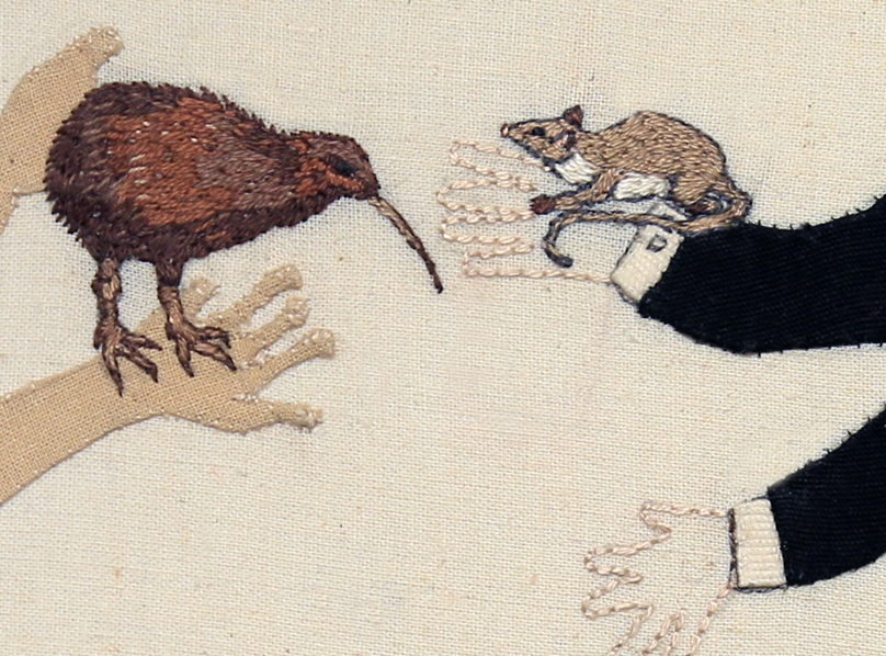 Detail: Trade Item – Stoat, Weasel and Kiwi