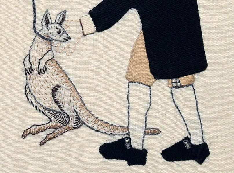 Detail: Trade Item – Wallaby Karamu, Mahoe.