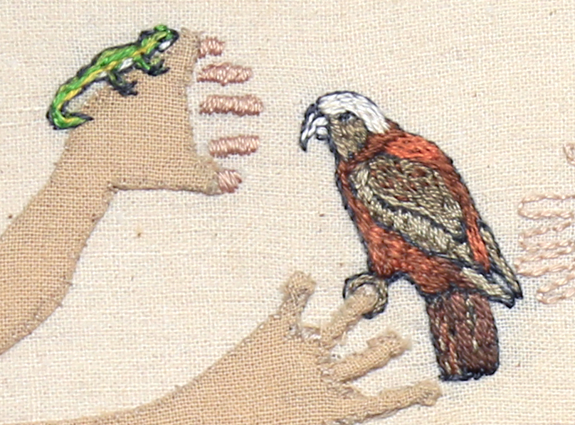 Detail: Trade Item – Wasp, Kaka, Jewelled Gecko.
